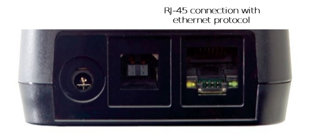 RJ45 ethernet connection